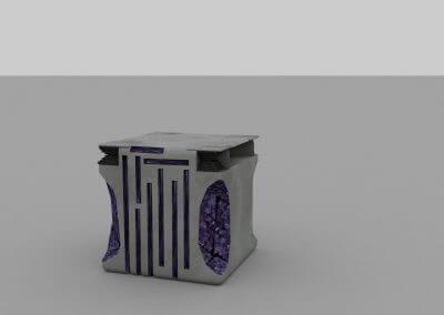 Cube aménagé